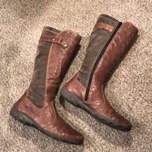 Brown Reiker boots in great condition size 6.5